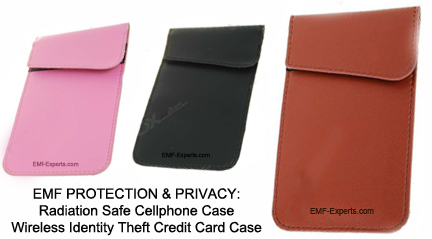 Block cell phone cameras - cell phone radiation blocking case