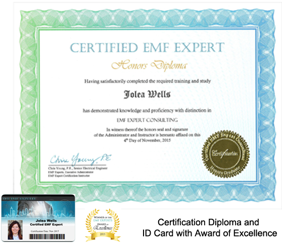 Online EMF Certification Training - 6 week and 12 week courses